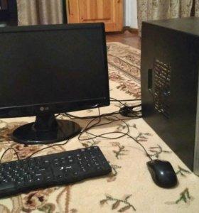 Двухядерный компьютер с монитором, можно раздельно