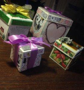 Делаю на заказ сюрприз-коробки