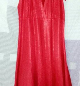 Платье красное беларусское новое