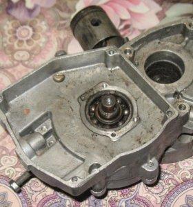 Картер двигателя д8 Э с коленвалом