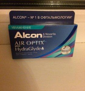 Линзы Air Optix plus Hydraglyde -3,75