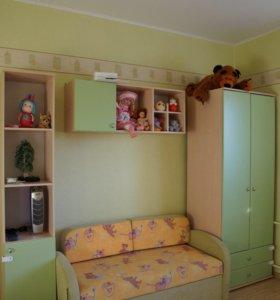 Детская мебель зеленая