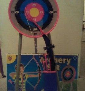 Детский лук для стрельбы