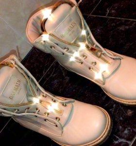 Balmain зимняя обувь