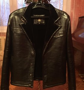 куртка эко-кожа с мехом