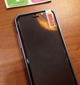 Защитное стекло на iPhone 4/4s/5/5s/SE/6/6s/7/8