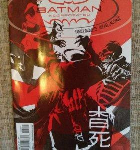 Комикс Batman incorporated.