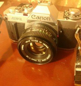 Canon av-1(50mm 1.8 fd)