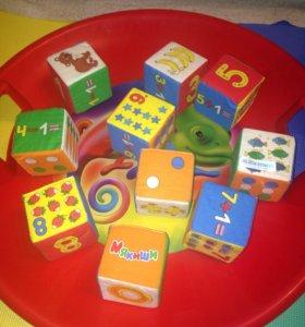 Кубики Мякиши 10 шт