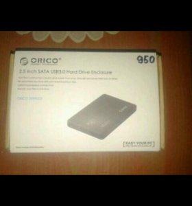 Жесткий диск 500GB + box