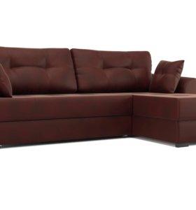 Угловой диван еврокнижка «АМСТЕРДАМ» новый