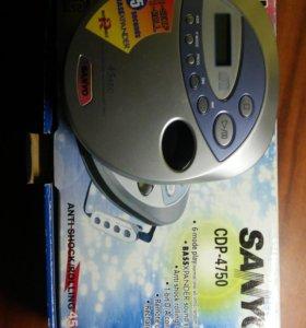 CD плеер Sanyo CDP4750