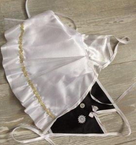 Одежда жениха и невесты для бутылок