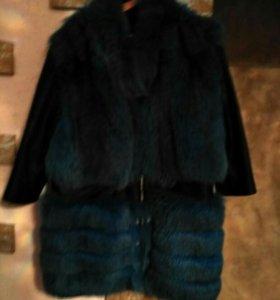 Куртка с мехом 52-56