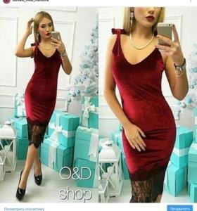 В наличии платье 42-46