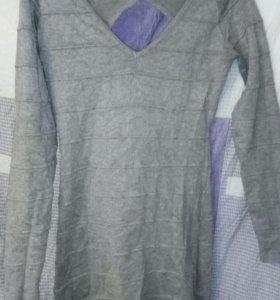 Платье ooji серое как новое