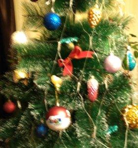 Елка-сосна новогодняя, 3м