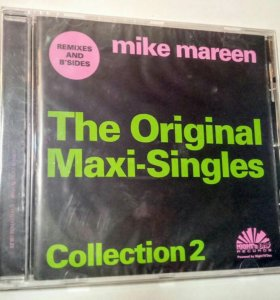 Компакт диск Mike Mareen The Original Maxi Singles