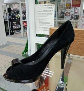 Туфли нат замша