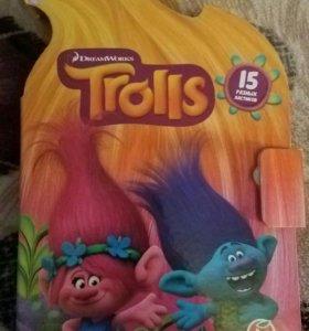 Trolls домик пенал