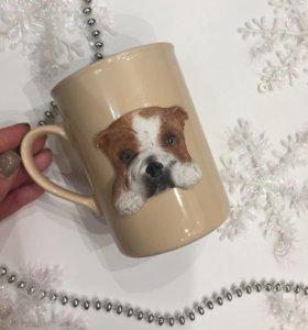 Кружка с собакой