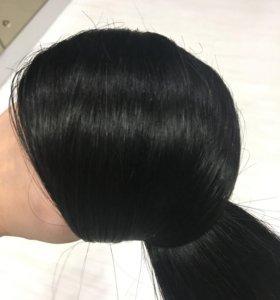 волосы на кератиновых капсулах