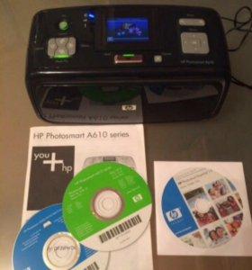 Фото принтер HP Photosmart A610 series
