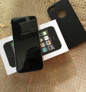 Смартфон Apple iPhone 5S 16Gb Space Gray (ME432RU
