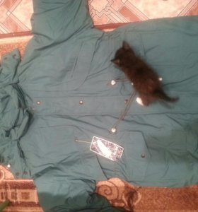 Куртка новая мужская.пух.