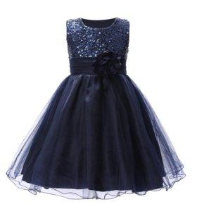 Праздничное платье на девочек рост 126-134