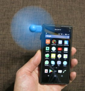 Вентилятор micro-USB / lightning для смартфона