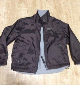 Куртка двусторонняя Benetton,100см,б/у