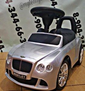 новые толокары Bentley