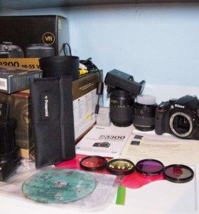 Фотоаппарат Nikon d3300 kit,объектив nikkor 55-200
