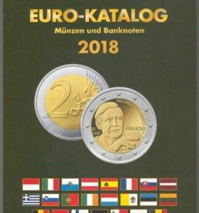 Каталог банкнот и монет евро 1999-2018 гг. Deutsch