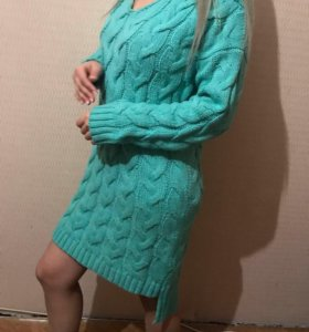 Платье свитер тёплый