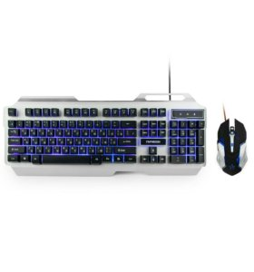 Игровой Комплект кл-ра+мышь Гарнизон GKS-510G USB
