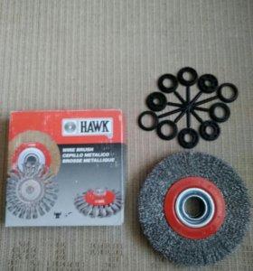 Щетка дисковая HAWK, 554 062-3008