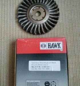 Щетка дисковая HAWK, 653 151-3008