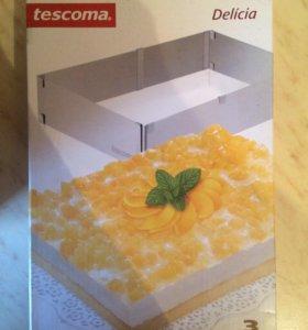 Tescoma- форма для торта прямоугольная delicia