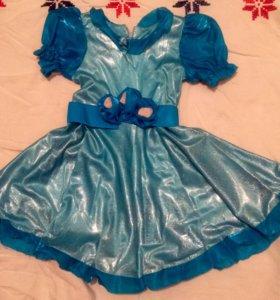 Бальное платье для девочки 4,5-6лет