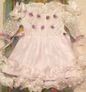Праздничное платье для девочки от 3-5лет