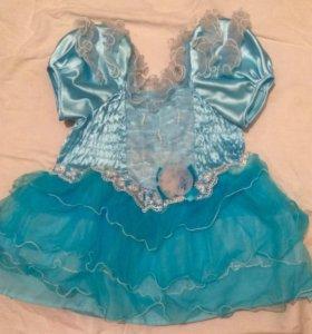 Платье для принцессы от 2-3лет