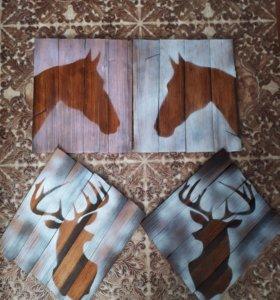 Картины handmade размер 35*40