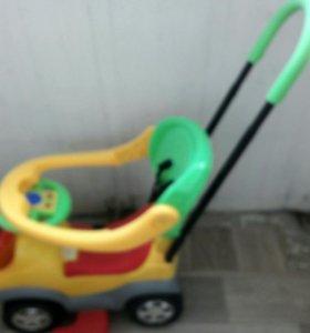 Машинка детская с толокаром