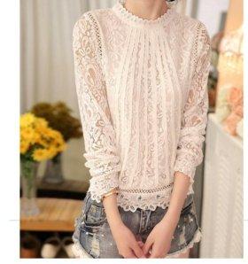 Новая белая блузка размер 42-44