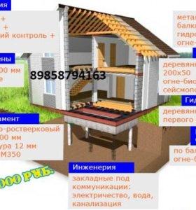 Строительство дома- новогодняя акция!!!