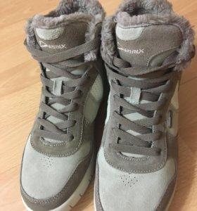 Зимние ботинки/кроссовки