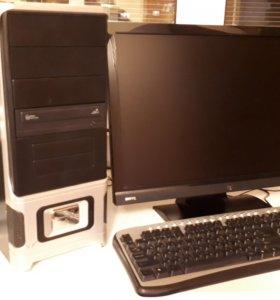 Двухядерный компьютер для дома или работы.