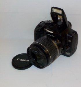 Canon EOS 400D Kit 18-55 + зарядное устройство